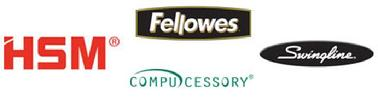 Shredders, GBC, Swingline, Fellowes, Compucessory