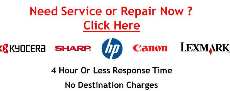 Kyocera, Canon, HP, Hewlett Packard, Printer Copier Repair, HP Printer Repair, Canon Copier Repair, Lexmark Printer Repair, Sharp Copier Repair
